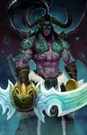 Illidan by jeffchendesigns