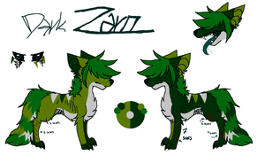 Dark Zaro Refsheet 2014 by Lalaloraa
