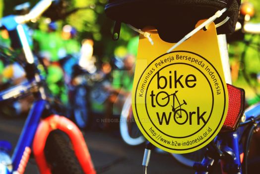 Bike to Work by nebgib