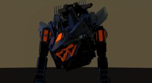 Zoids 3D art work demo#2 by Net-Zone-Network