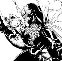 Spawn and goblin by Jawbone-Lord