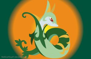 Serperior by RedScarfGuy01