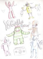 Yo Gabba Gabba by green-bacon