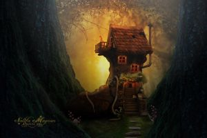 The old woman who lived in a shoe by Sacm88