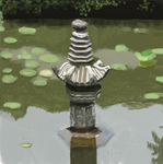 sculpture in the lake by heycyril