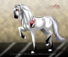 GBR Lady Snowfire by WolfsMoon1