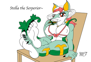 Stella the Serperior by Marshall-Fox