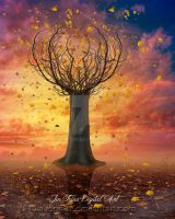 Heart Tree surreal by jiajenn