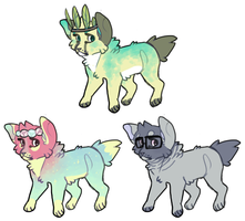 pup designs + possible icons (1 left) by pew