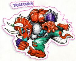 Triceraton by Real-Warner