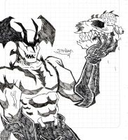 Devilman sketch by sav8197