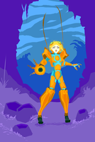 Samus Insect Suit by shallowculture