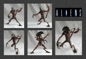 Alien Model by mikedaws