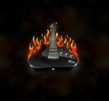 guitar icon by st-valentin