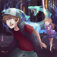 gravity falls by Dragons-Roar