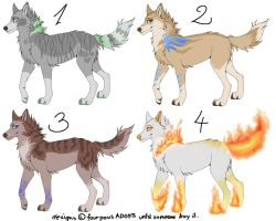 Canine Adopts CLOSED by FourPawsADOPTS