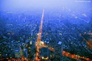 taipei night by evenliu