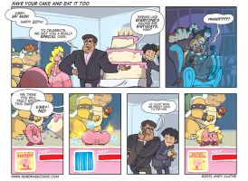 Nerd Rage - Have Your Cake And Eat It Too by AndyKluthe