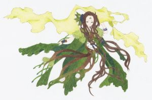 Forest Fairy by solitarymuse