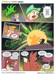 Cybie and Tykie - Soulless (Page 20) by CyberPikachu