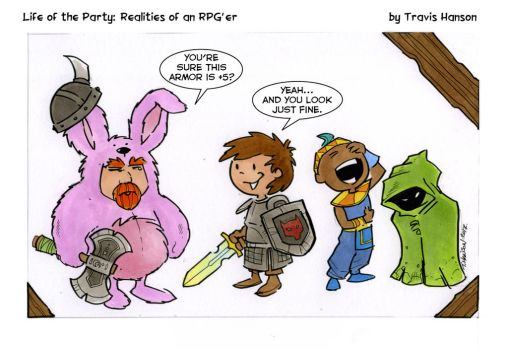 its all about the armor... RPG Comic LOTP by travisJhanson