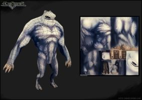 EXODUS Monster - Tougris 2 by Hel-su