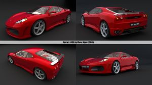 Ferrari F430 by me by view