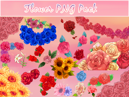 Flower Png Pack by Natsi90
