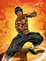 Bruce lee by LTartist