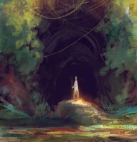 Into the cave by elbardo