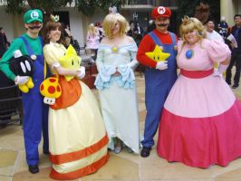 Cosplay: Mario Party by I-heart-Link