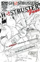 Ghostbusters #9 - Ghostbusters Fans Exclusive by T-RexJones