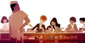 Sushi Bar by PascalCampion