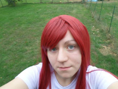 Erza Wig Costest!! by theelysianproject