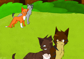 Its over brambleclaw by xseashell