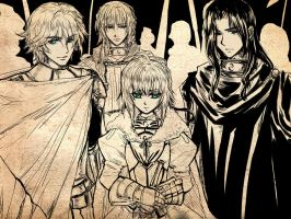 Knights of the Round Table by steelgarden