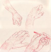 Hand Practice 1 by GoldenOne