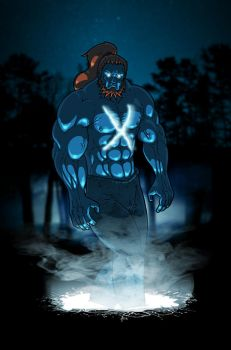 Saltire - Scotland's First Superhero by MrHades