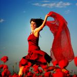Lady in red by Fussel2112