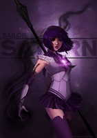 Sailor Saturn by riordan-j-flynn