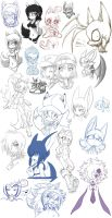 .:2010:. D-Sketch Collection 3 by S-Dash
