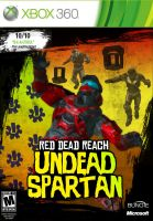 Red Dead Reach: Undead Spartan by DeepFriedD0nut