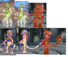 Some Spore Refs I'mma Use... by PukingRainbow