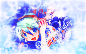 Happy Birthday to Miku by Anaka-aka-Midori