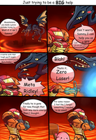 4bits comic: Just trying to be a BIG help by thegamingdrawer