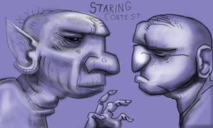 Staring Contest by yig