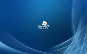 Blue Abstract Windows 7 by jix