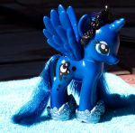 Princess Luna Fashion Pony Custom-Gauntlets/Crown by Agony-Roses