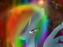 Rainbow Factory. by BeastyxLightning