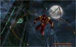 ULTIMATE IRON SPIDERMAN by CSuk-1T